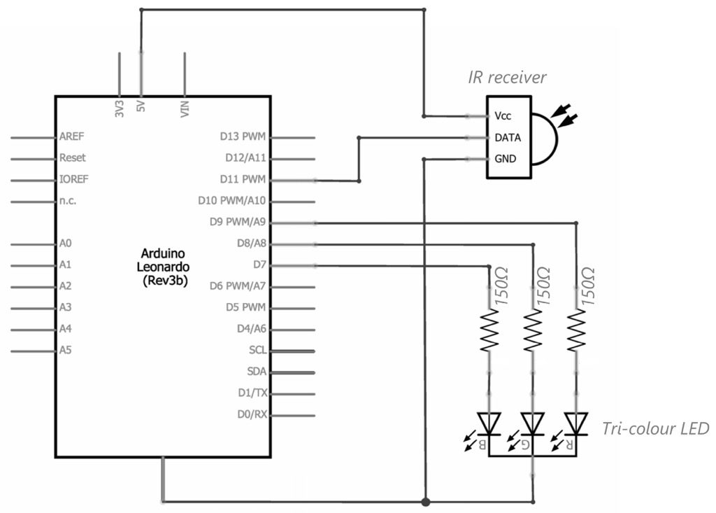 Learn: Control a Circuit with an IR Remote Control – Chumbaka Forum